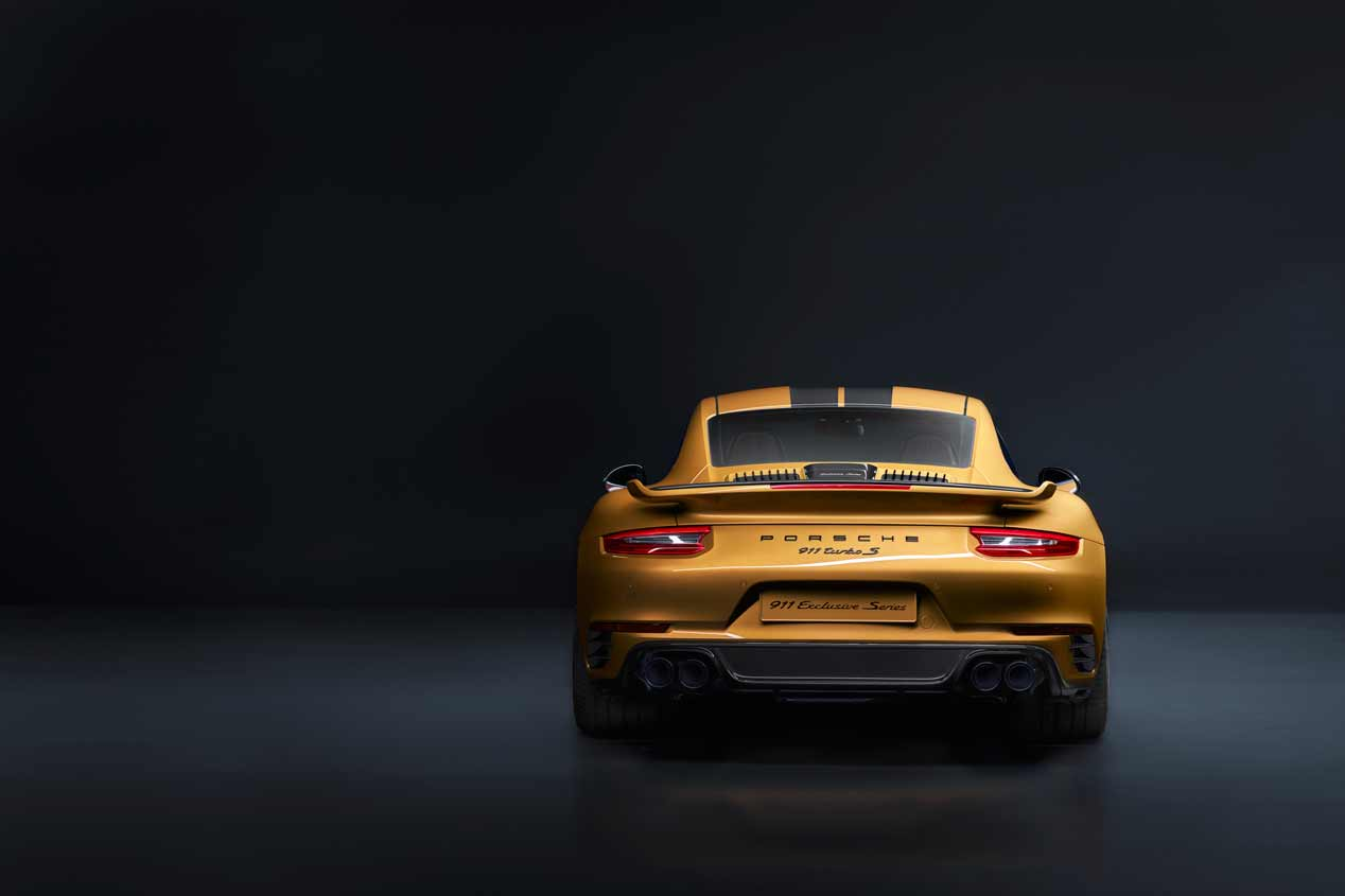 Porsche 911 Turbo S Exclusive Series, sus mejores fotos