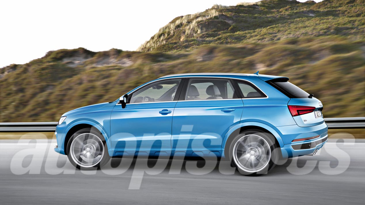 Audi Q3, así será la segunda generación del pequeño SUV de Audi