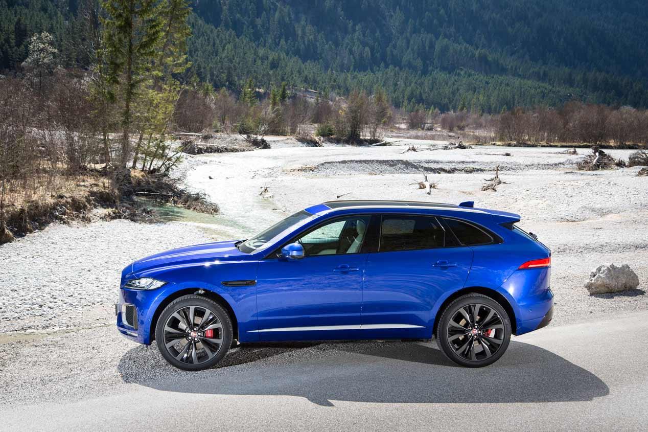 Jaguar F-Pace 2018, lo conducimos. Las mejores imágenes