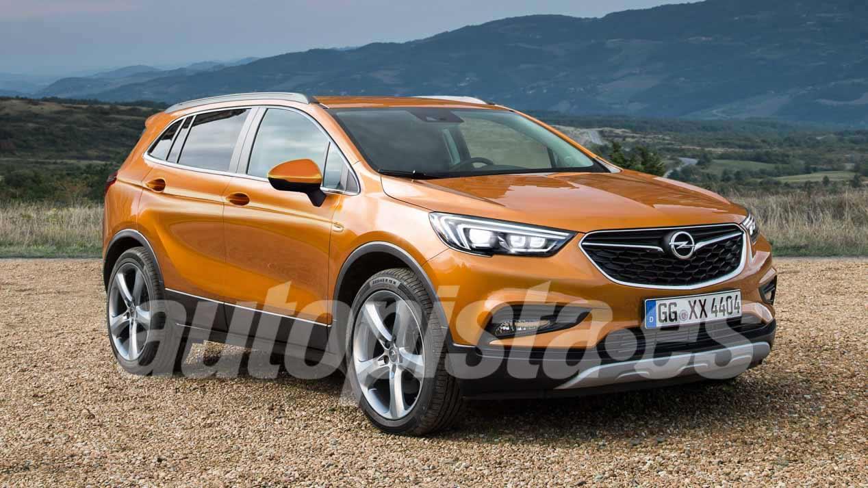 Opel SUV 7 plazas: Opel prepara otro nuevo modelo SUV para su gama X
