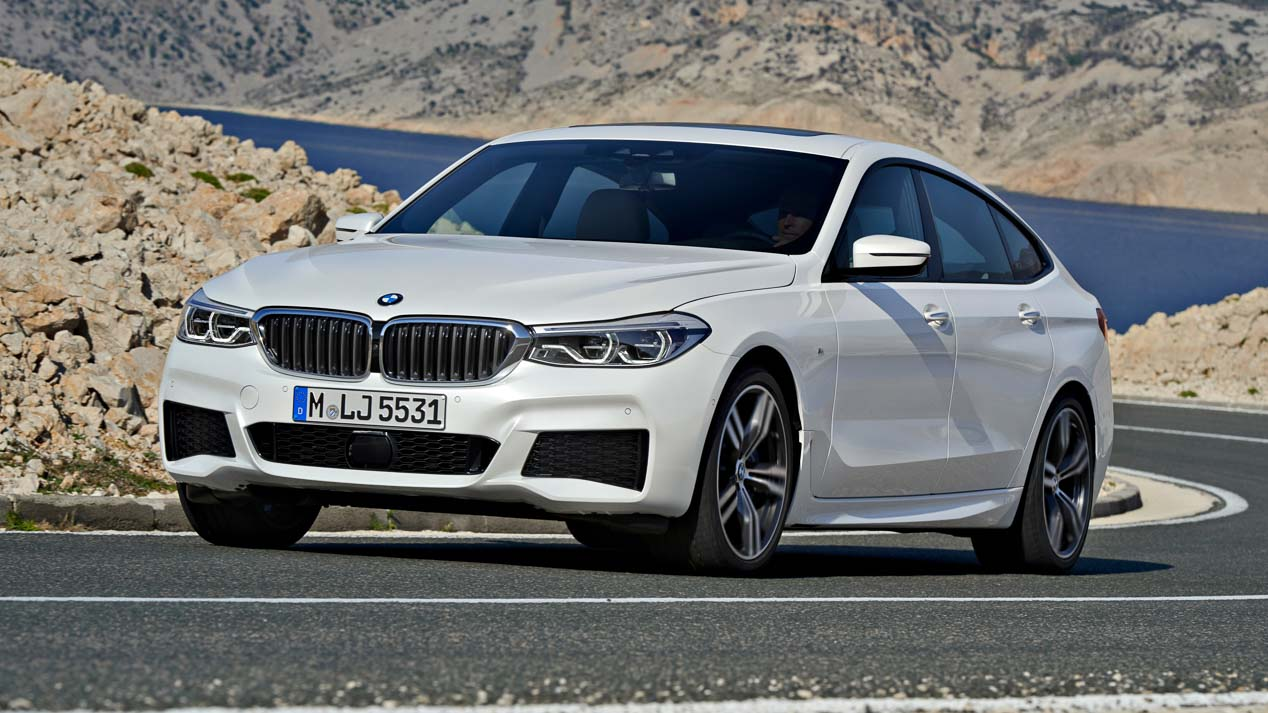 BMW Serie 6 GT: remodelación total del saliente BMW Serie 5 GT