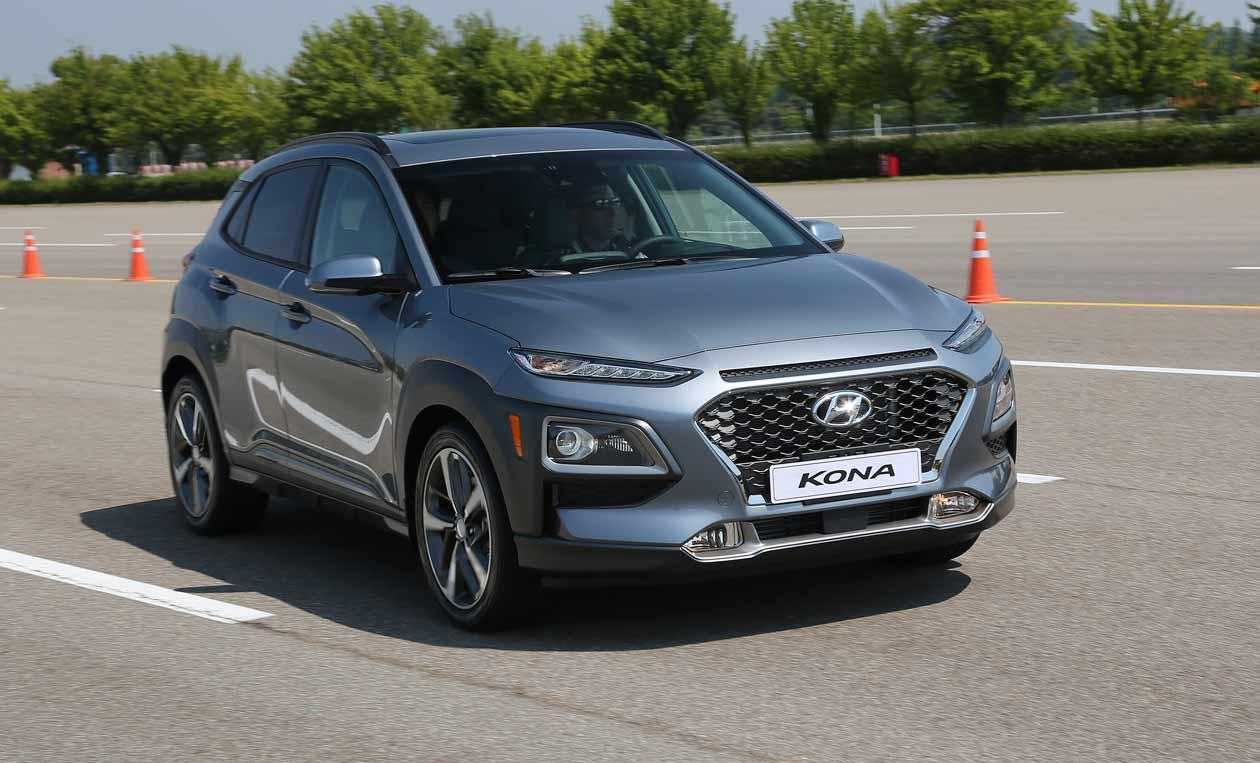 El nuevo SUV Hyundai Kona, a prueba