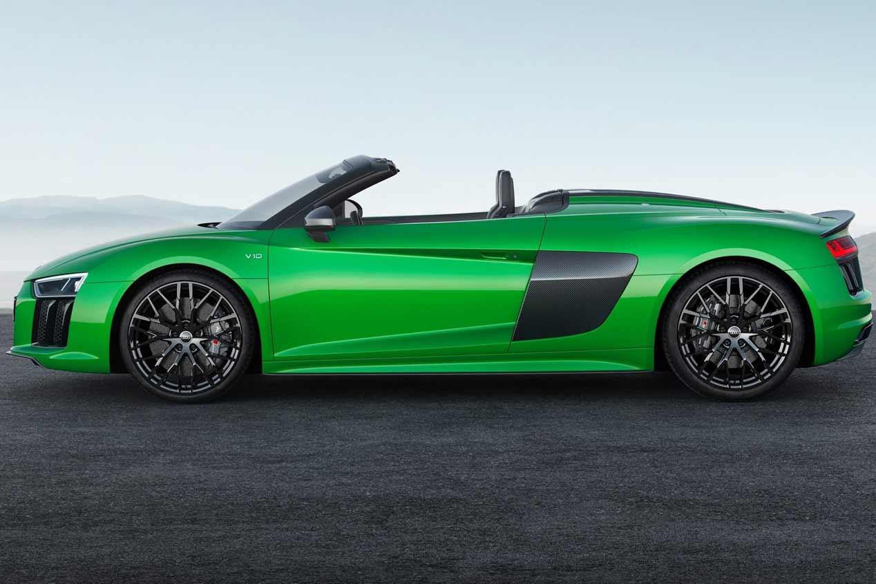 Audi R8 Spyder V10 Plus: el descapotable más rápido y extremo de Audi