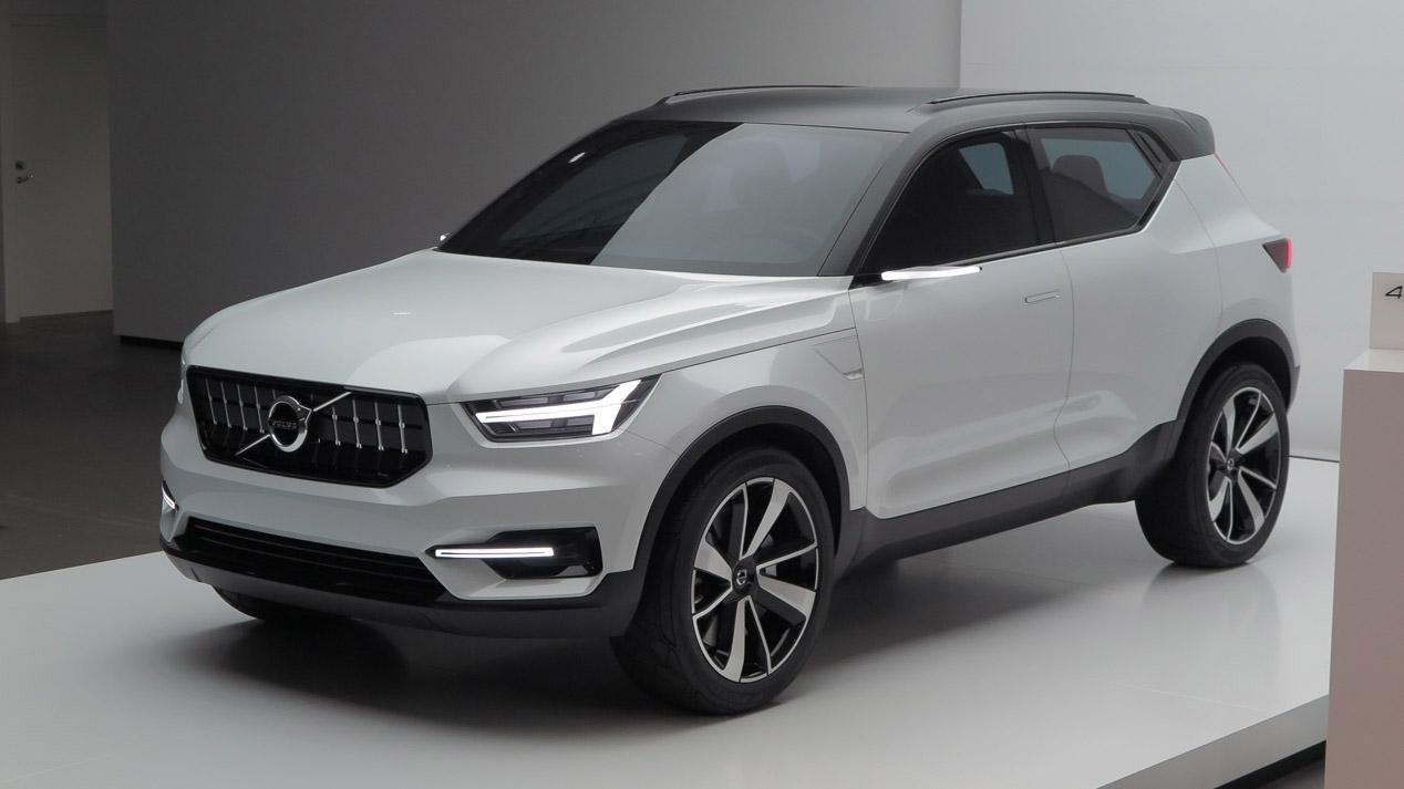 Así será el Volvo XC40 y sus futuros rivales SUV
