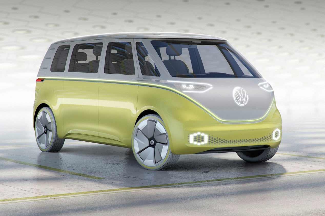 Los futuros coches eléctricos de Volkswagen, en fotos