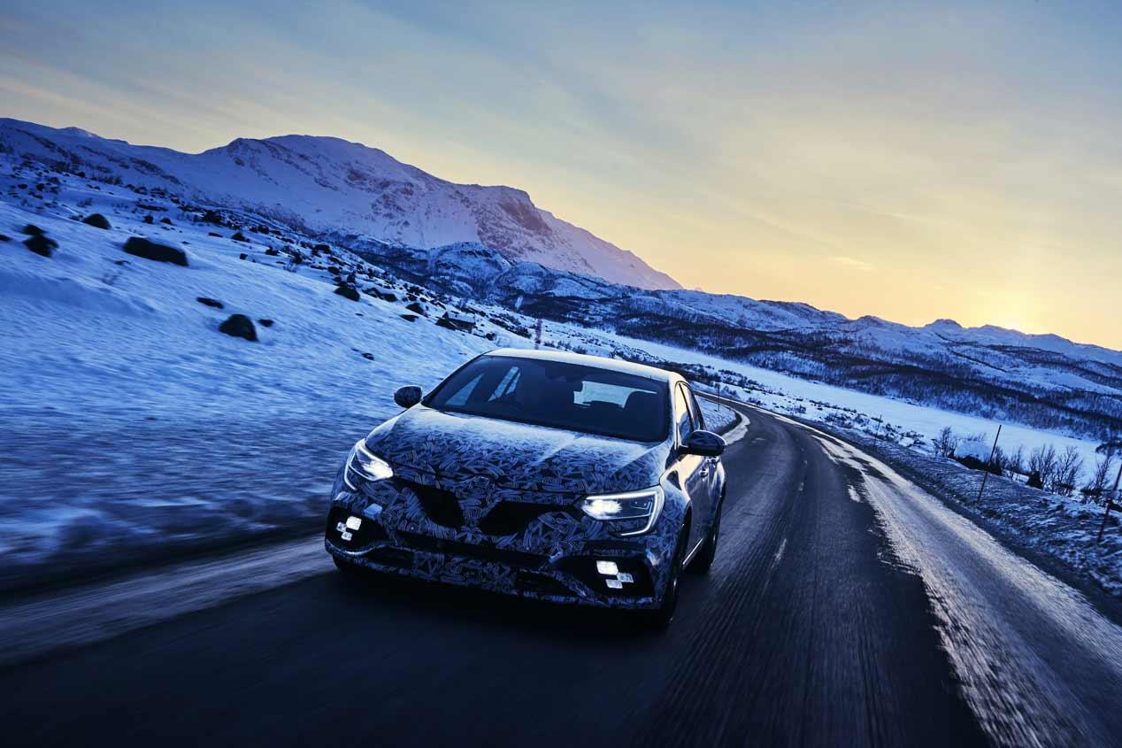 Renault Mégane R.S. 2018, las imágenes del nuevo deportivo