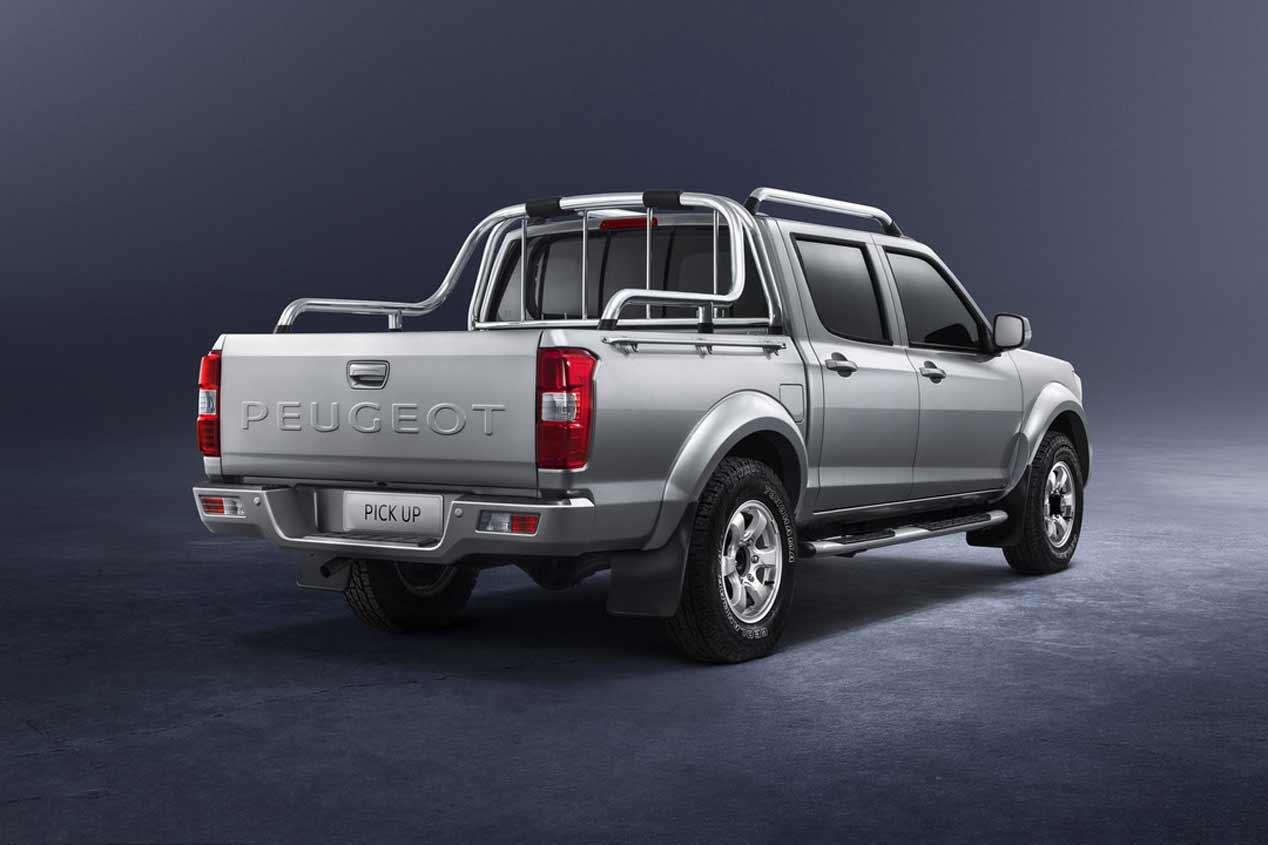 El Peugeot Pick-Up, en imágenes