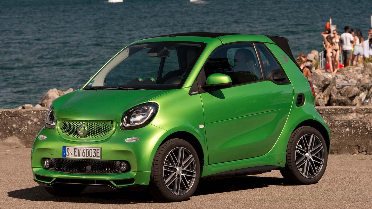 Smart Fortwo Eléctrico Cabrio, el coche que reinventa la movilidad urbana