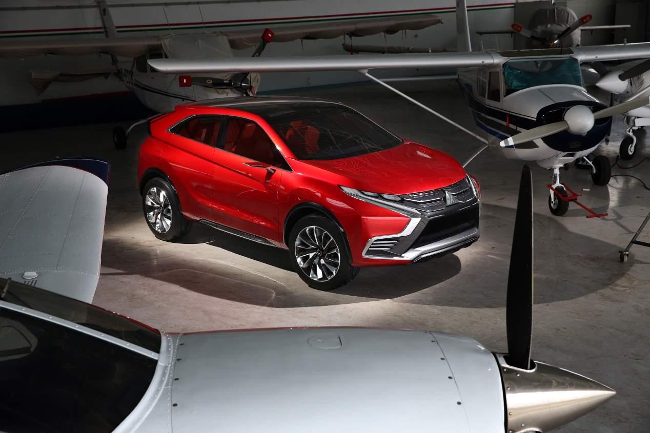 Mitsubishi Eclipse Cross: todas las fotos del nuevo SUV