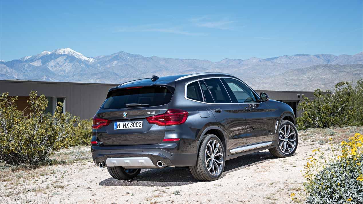 BMW X3 2017: todas las fotos del nuevo SUV que llega en otoño