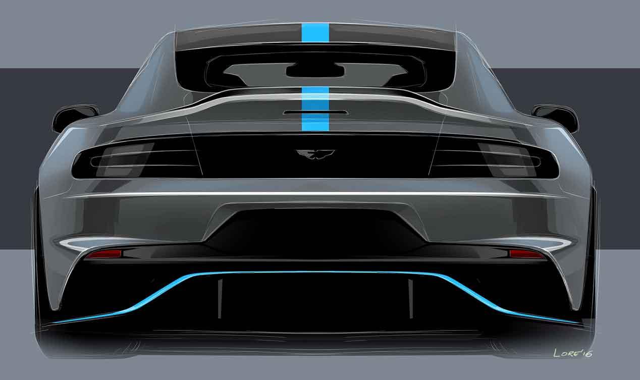 Aston Martin Rapide E: el primer eléctrico de la marca