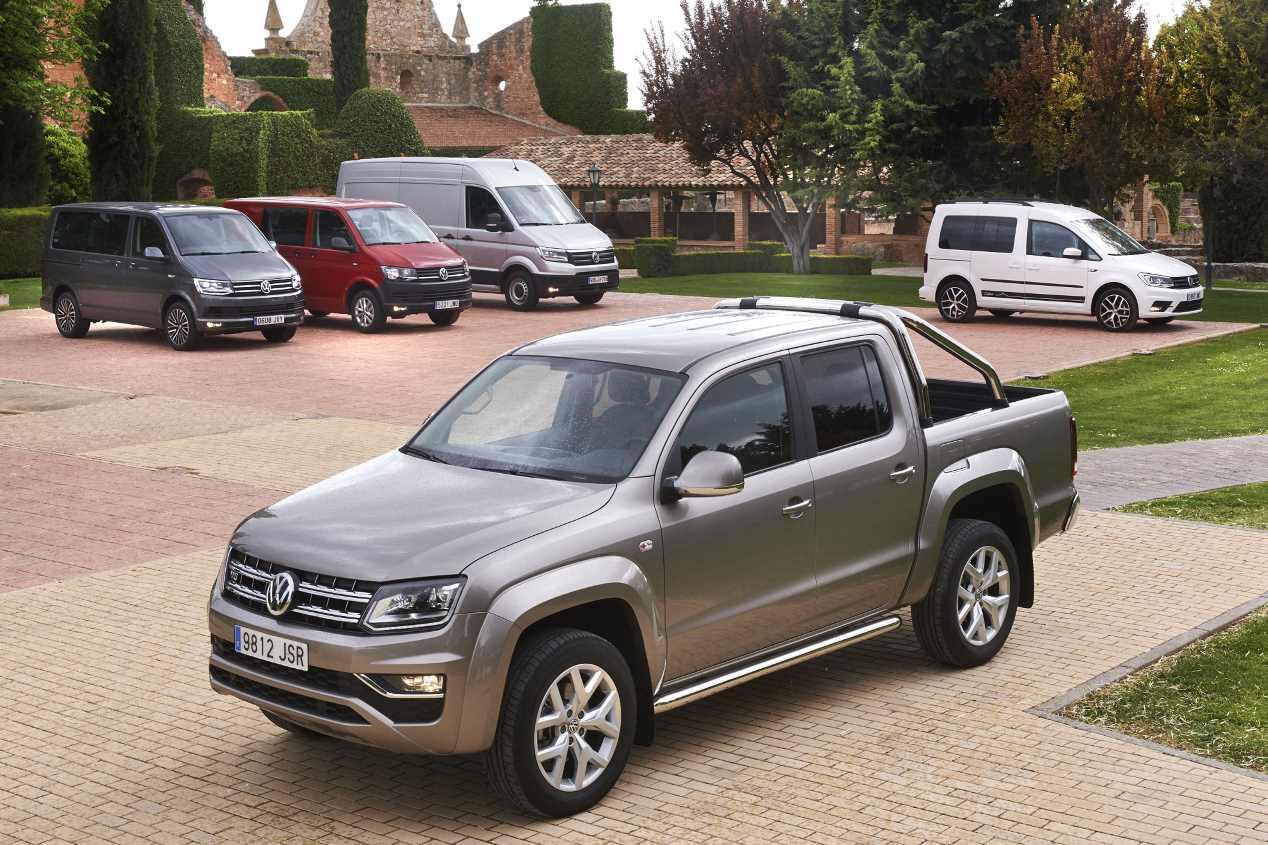 Volkswagen Vehículos Comerciales amplía su oferta de furgonetas