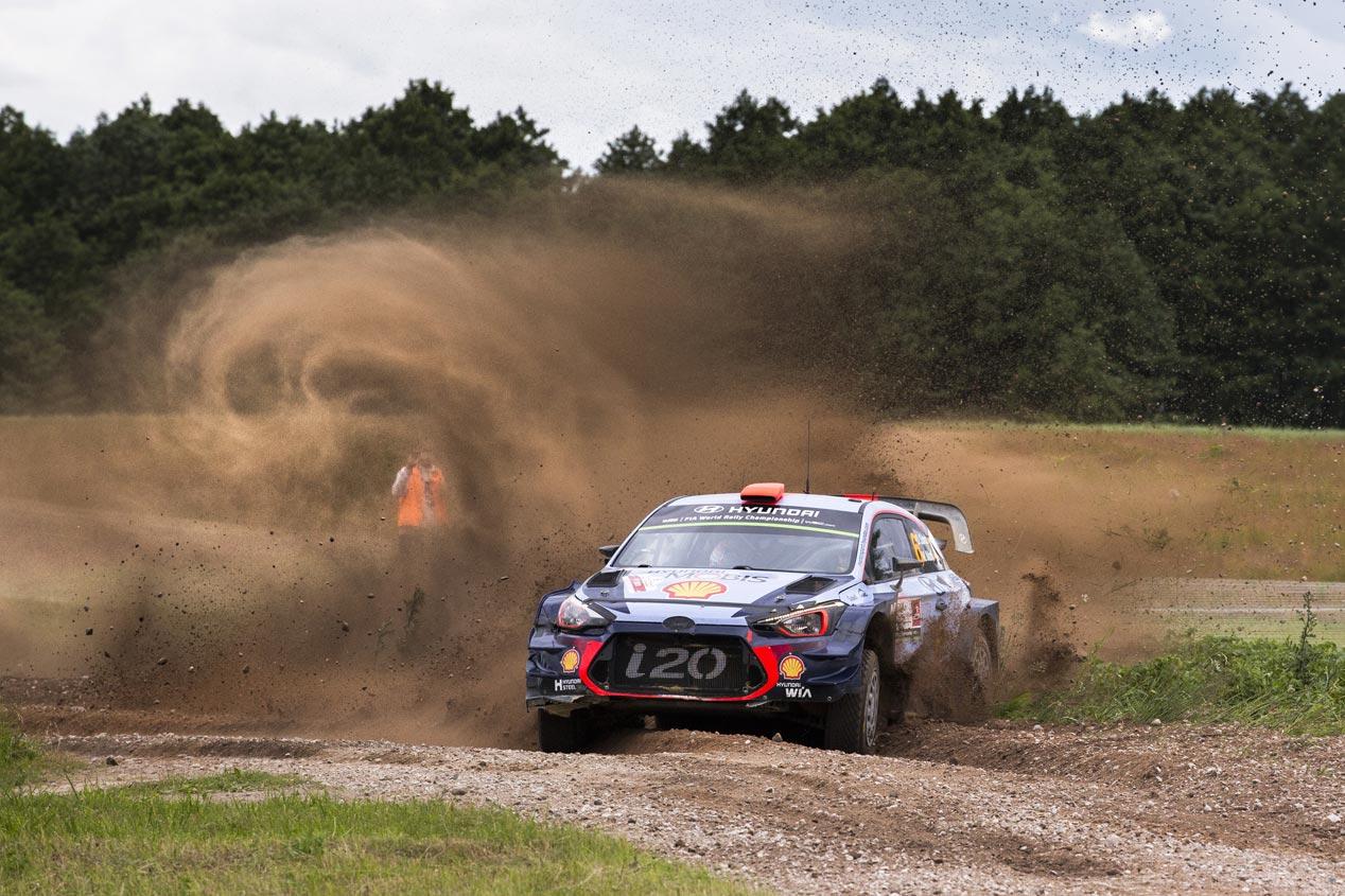 Rally de Polonia 2017: victoria para Neuville