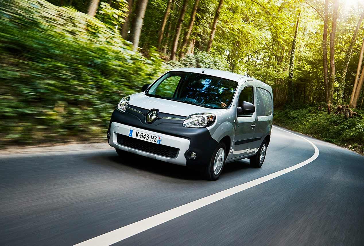 El nuevo Renault Kangoo ZE eléctrico, en fotos