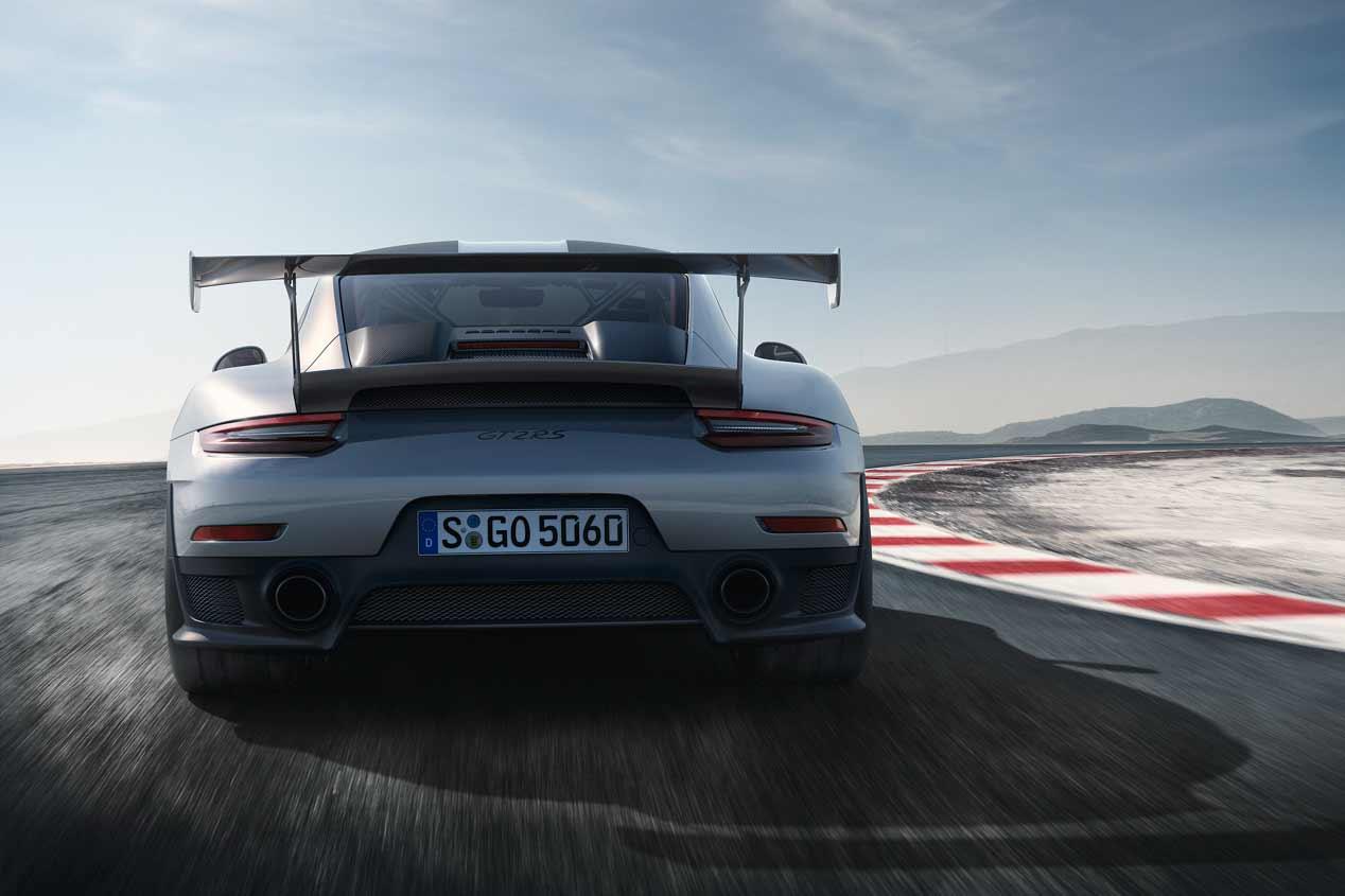 Las mejores imágenes del Porsche 911 GT2 RS 2018