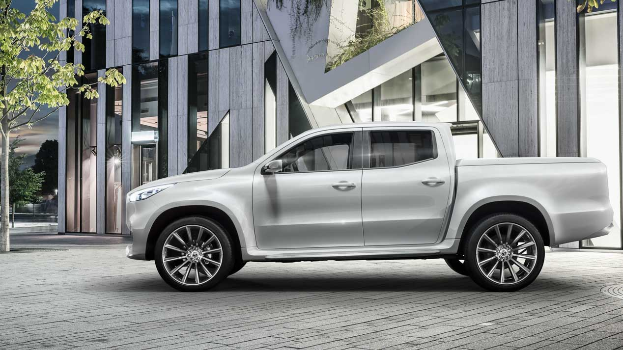 Mercedes Clase X: la primera pick-up de Mercedes