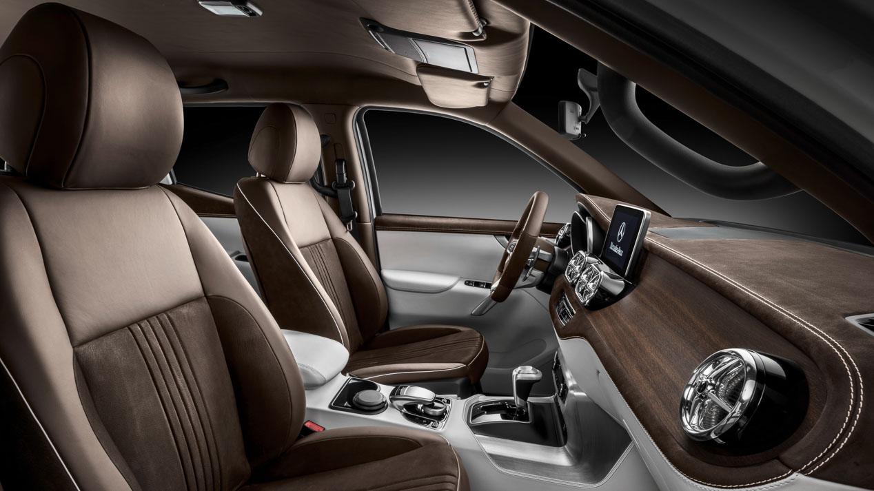 Mercedes Clase X: la primera pick-up de Mercedes