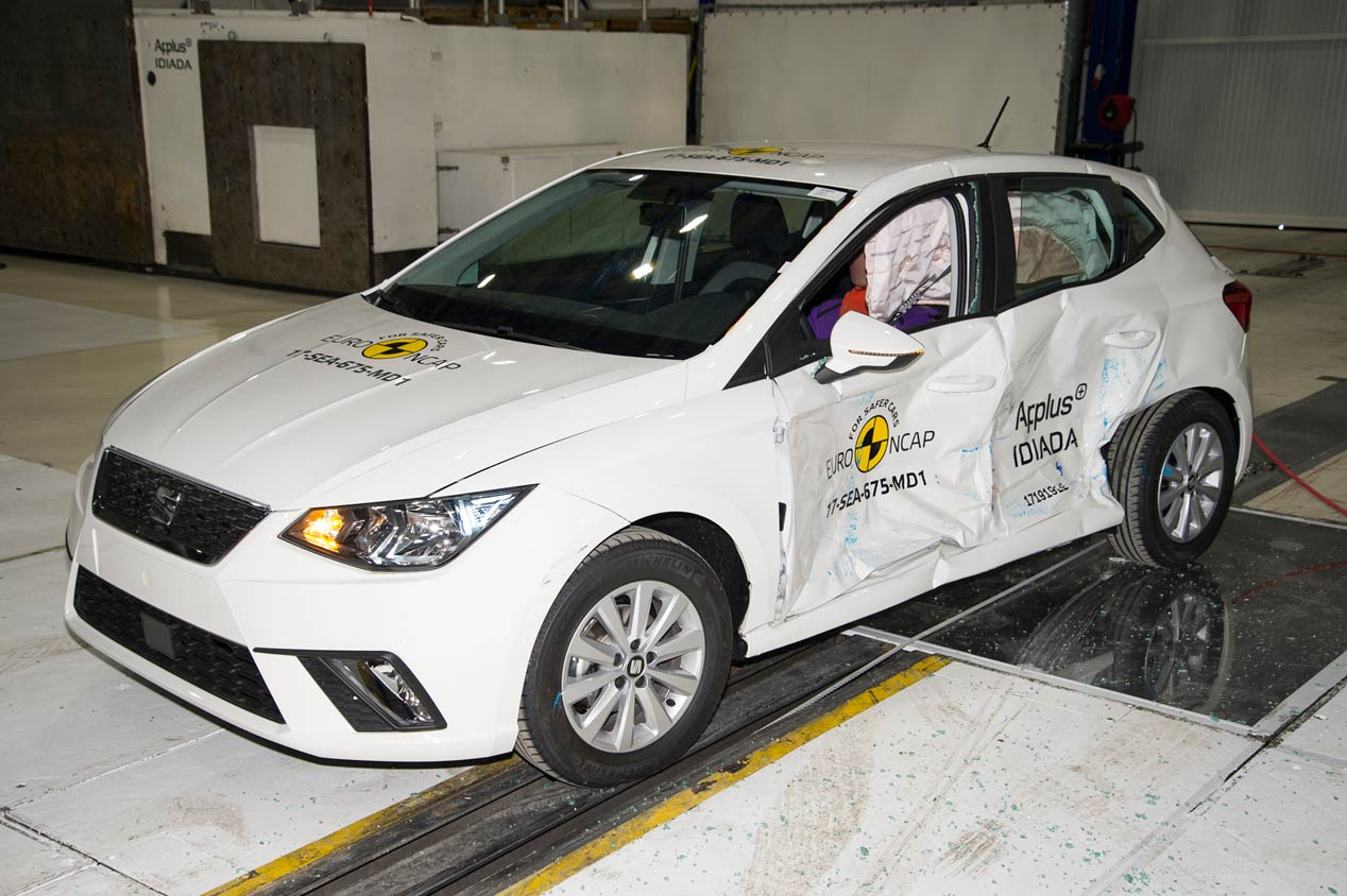 Test de choque Euro NCAP a los coches más nuevos del mercado