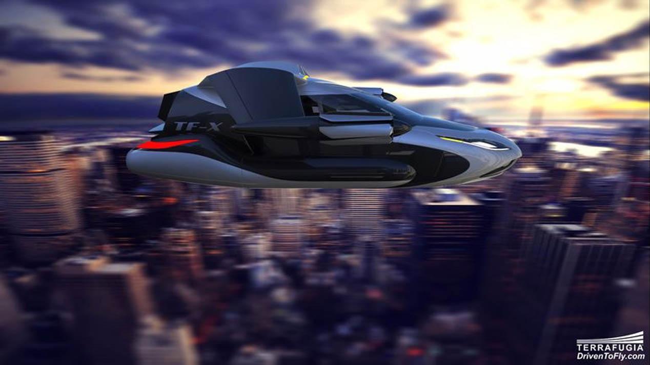 Geely compra Terrafugia, diseñadores del coche volador