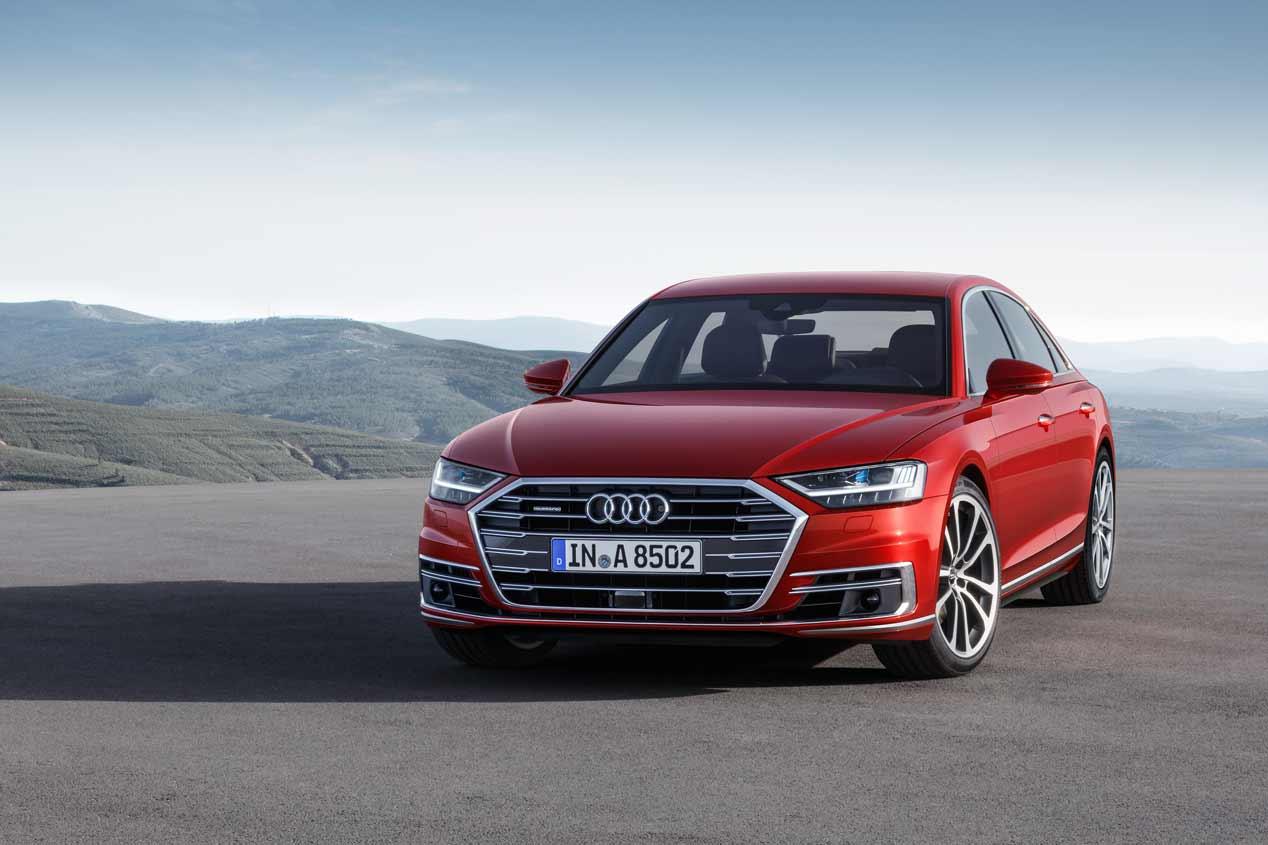 ¡Oficial! Nuevo Audi A8, sus FOTOS más espectaculares