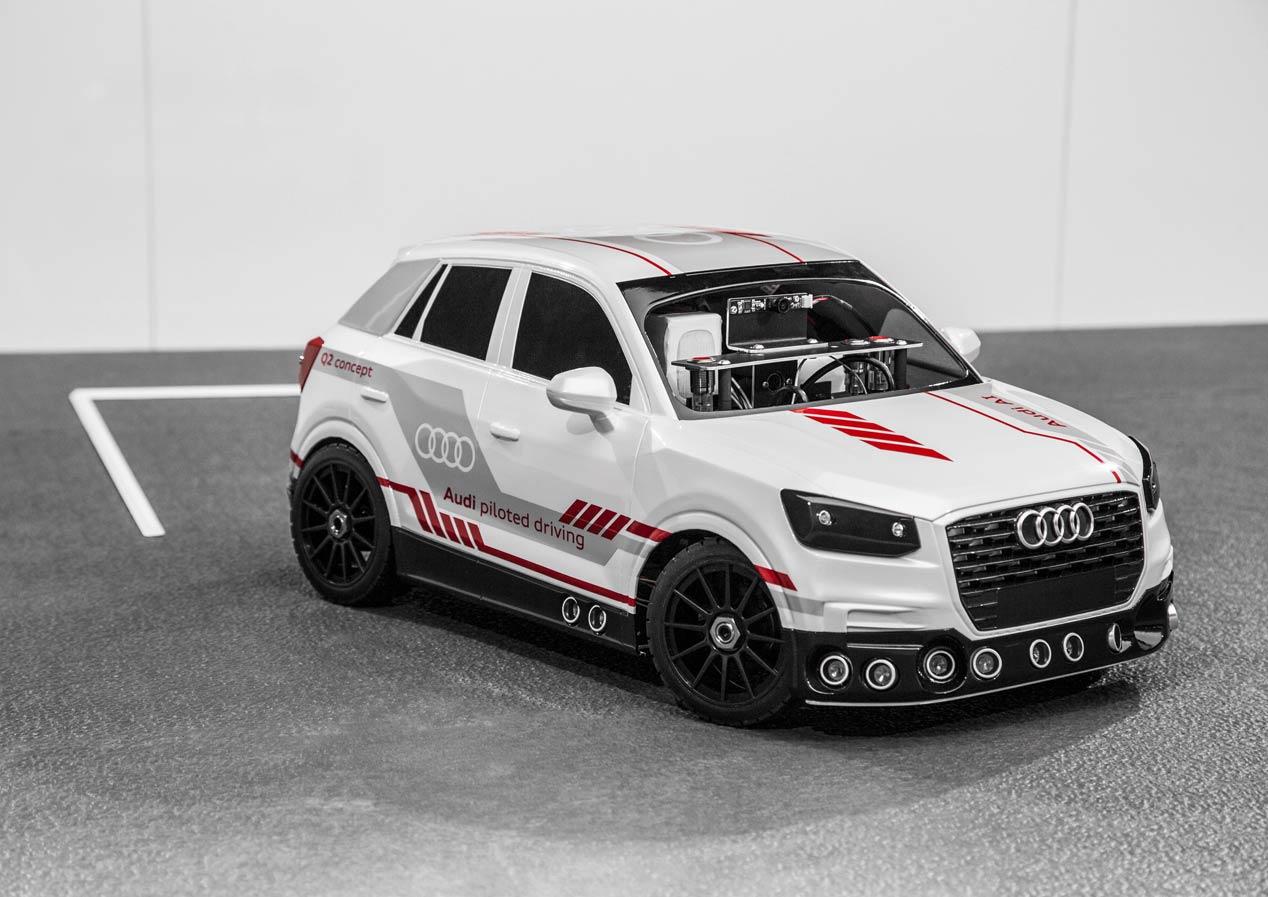Así son las tecnologías de futuro de Audi AI