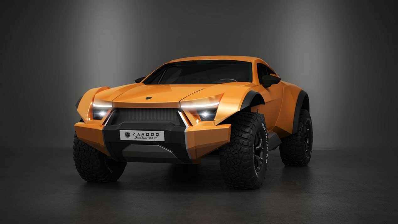 Zarooq Sand Racer 500 GT, una bestia dentro y fuera del asfalto