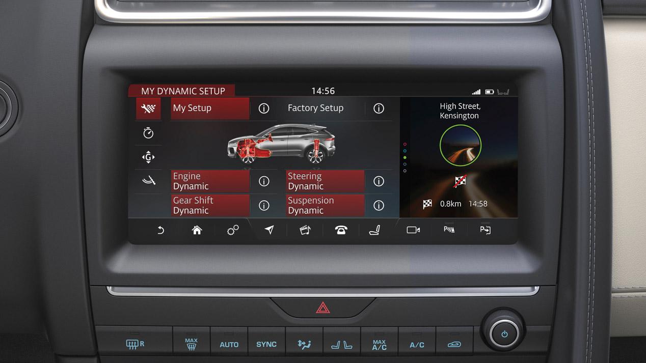 Jaguar E-Pace: todas las fotos del nuevo SUV compacto