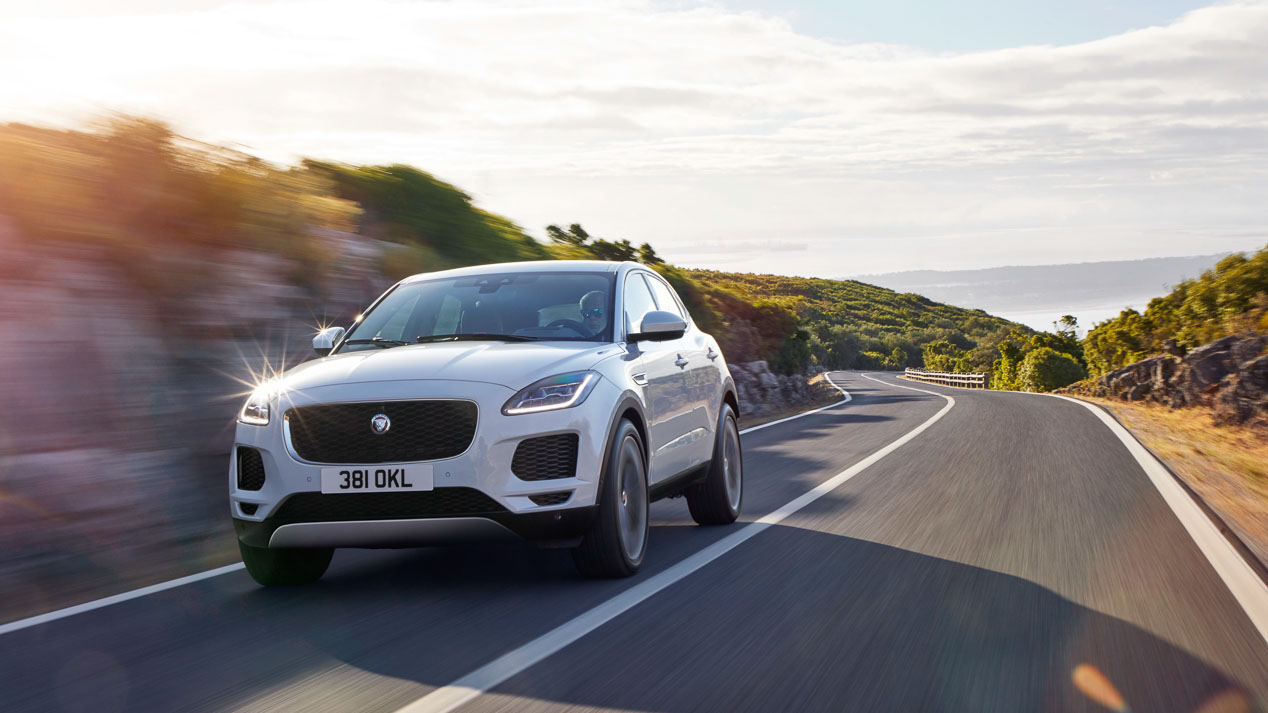 Jaguar E-Pace fotos