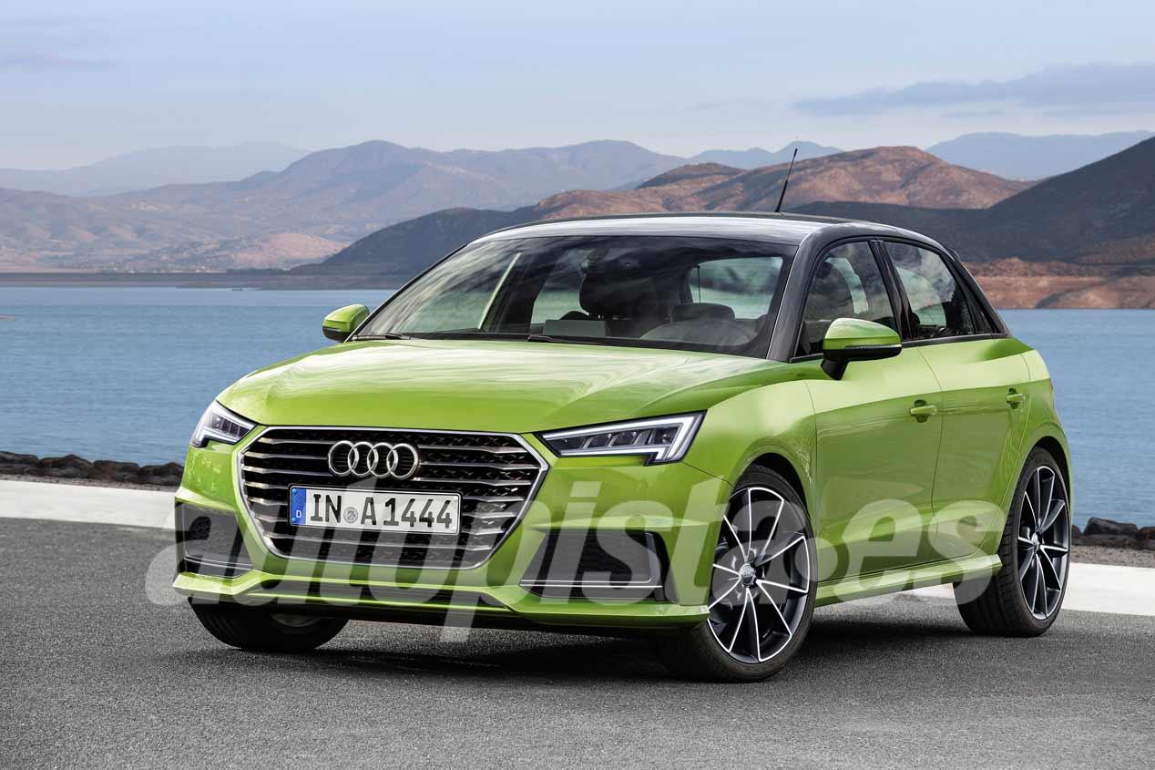 Audi A1 2018, primeras imágenes del nuevo utilitario premium
