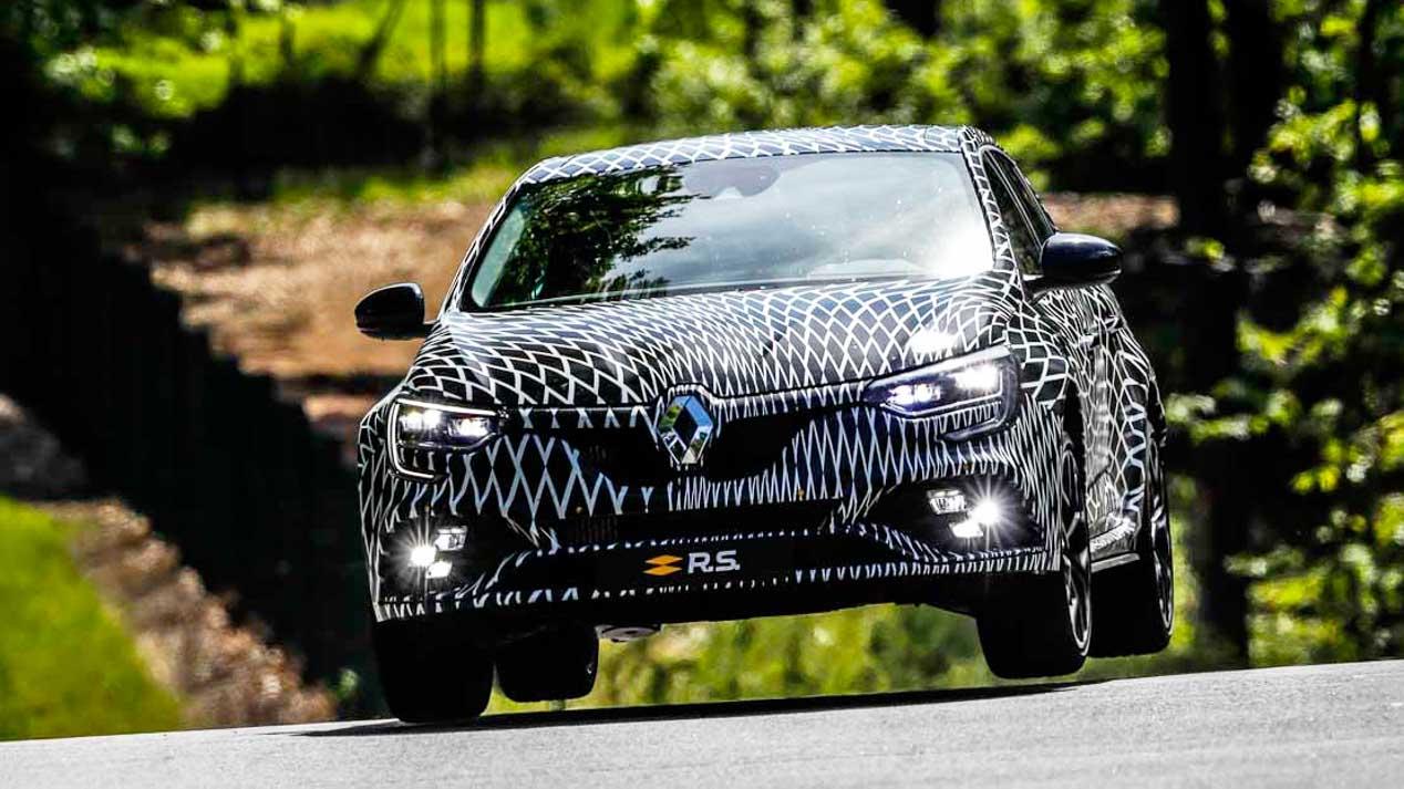Nuevo Renault Mégane RS: así en imágenes