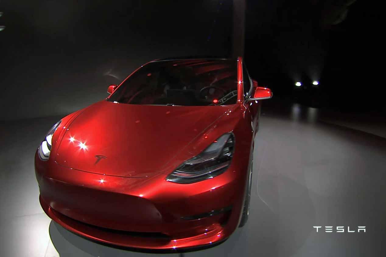 Los coches eléctricos de Tesla