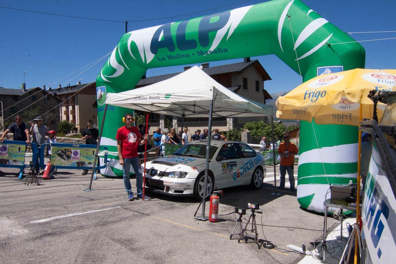 Las mejores imágenes de la Subida a Alp 2017