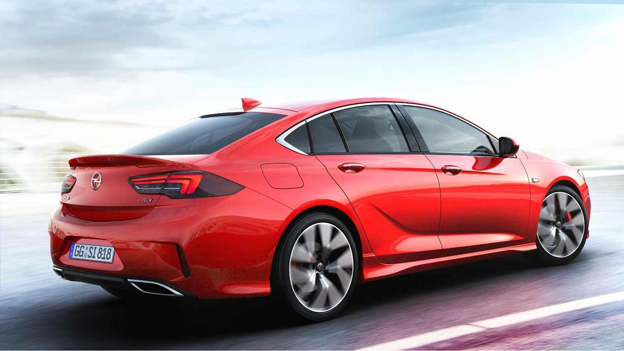 Opel Insignia GSi, siguiendo la tradición