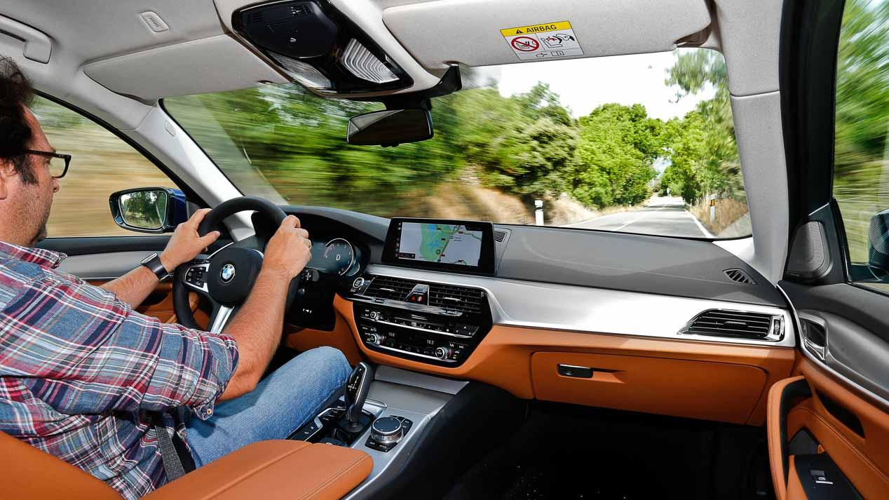 Probamos el nuevo BMW 520d Touring