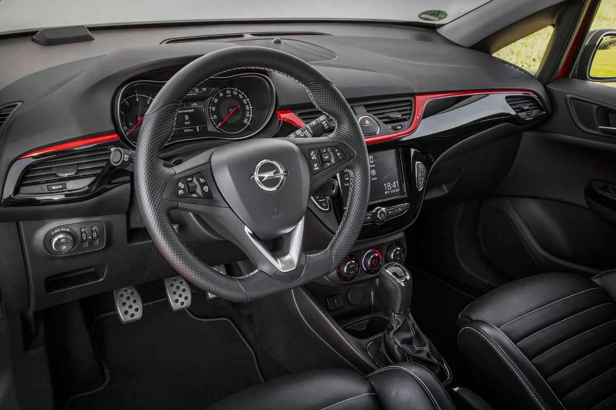 El Opel Corsa S, en fotos