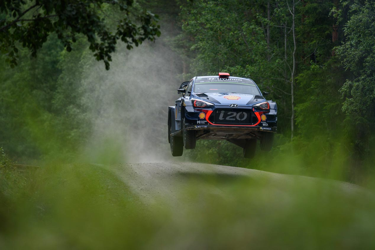 Rally de Finlandia 2017: la primera de Lappi