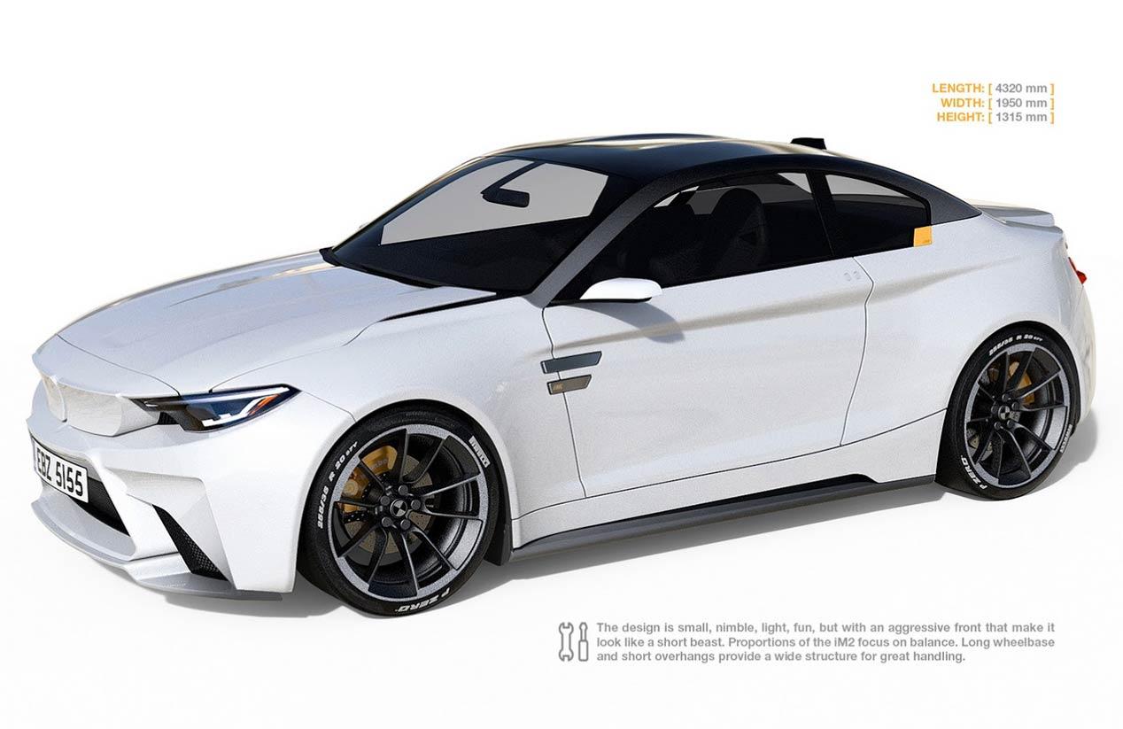 BMW iM2 Concept, un M2 cien por cien eléctrico