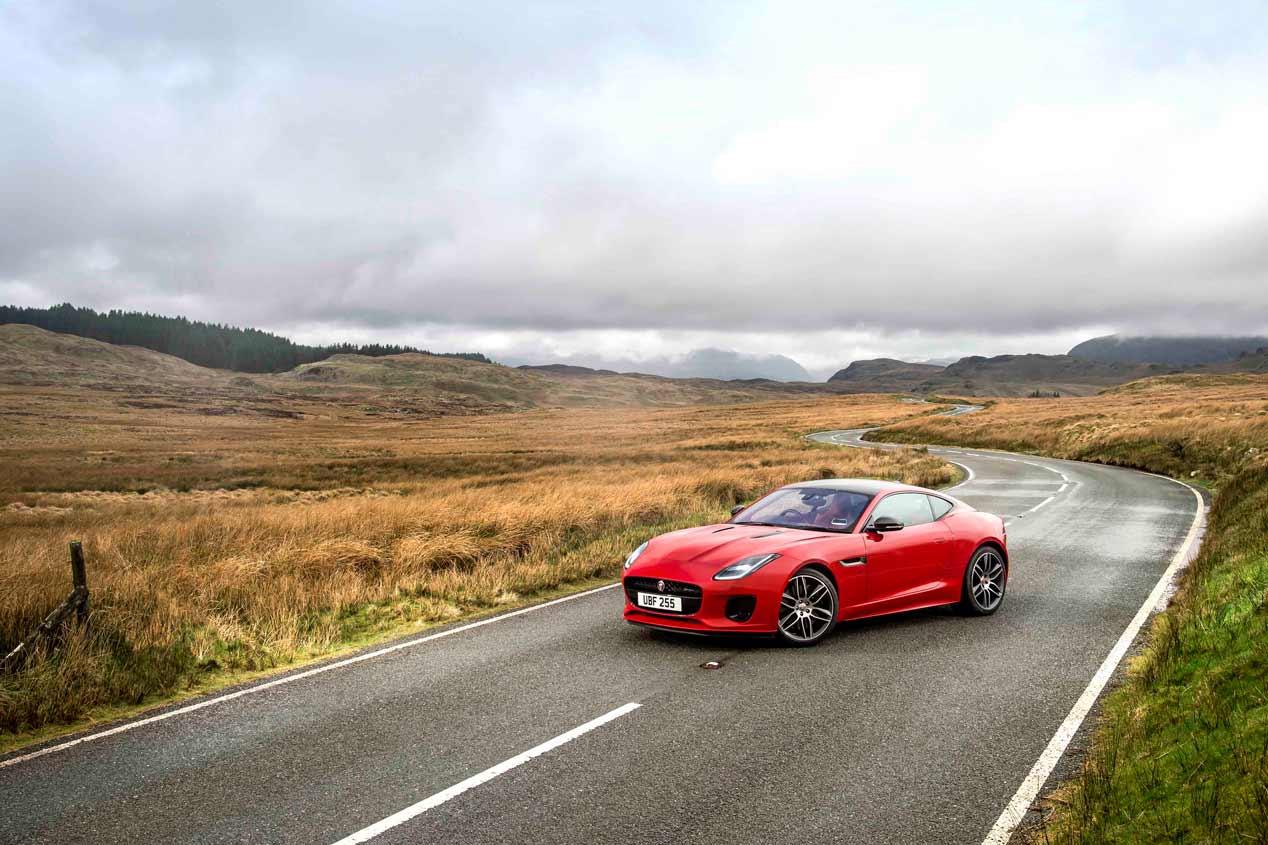 Jaguar F-Type 2018, 300 CV con nuevo motor