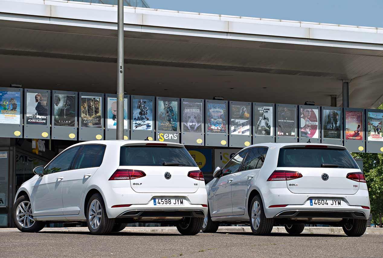 VW Golf Diesel o Golf de gasolina, ¿qué es mejor?