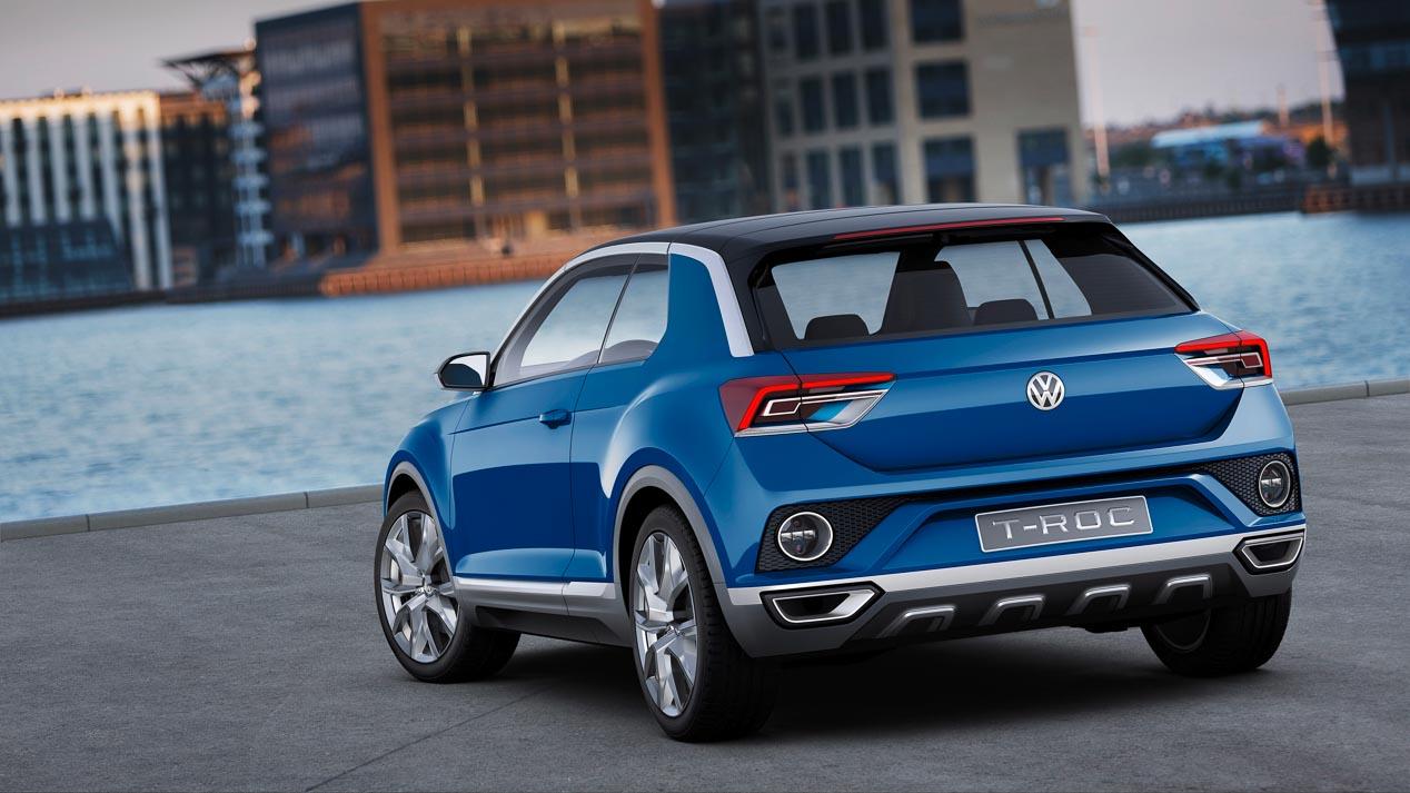Volkswagen T-Roc, bocetos y primeras imágenes