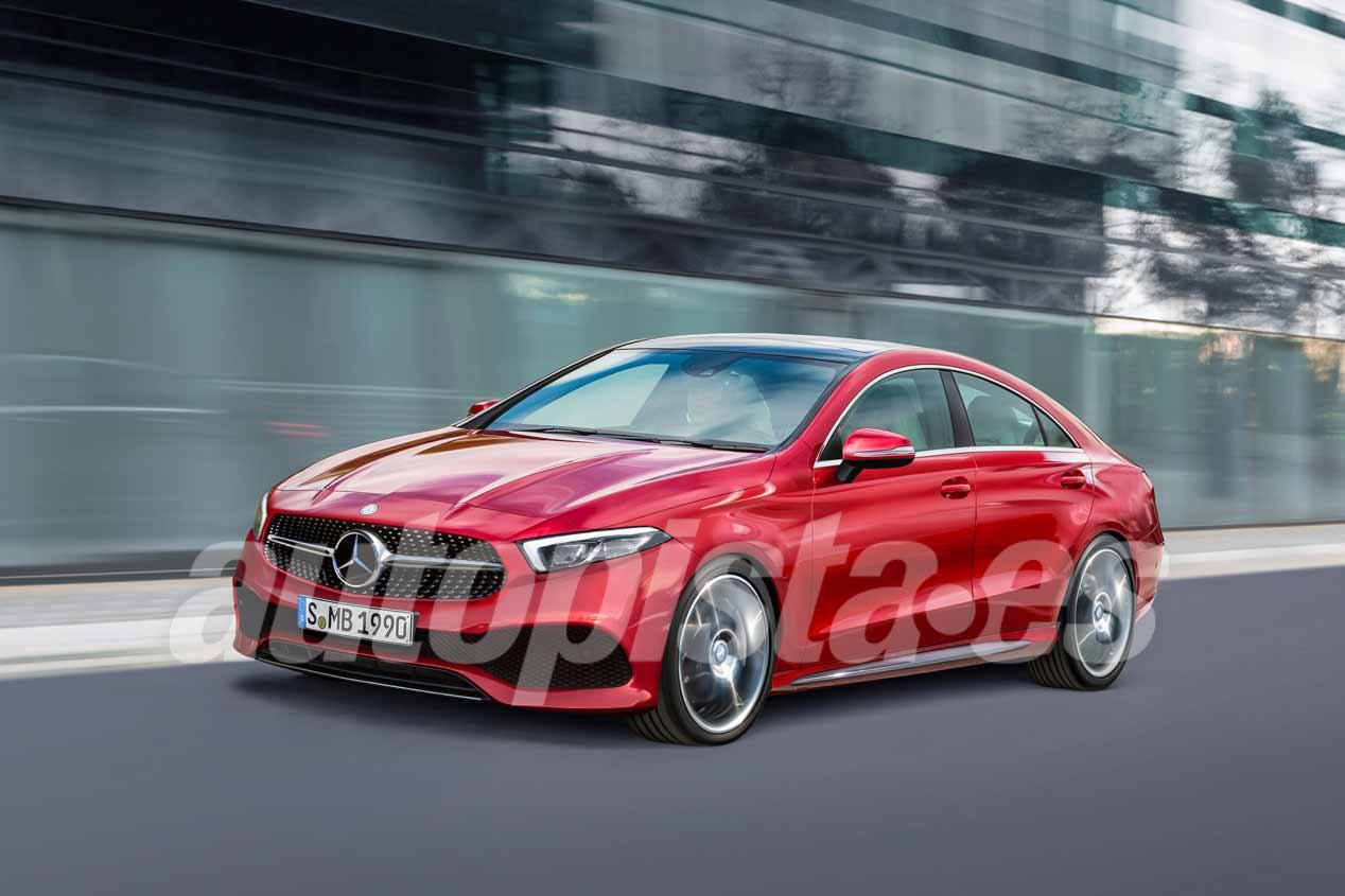 Mercedes Clase A 2018: nuevas imágenes