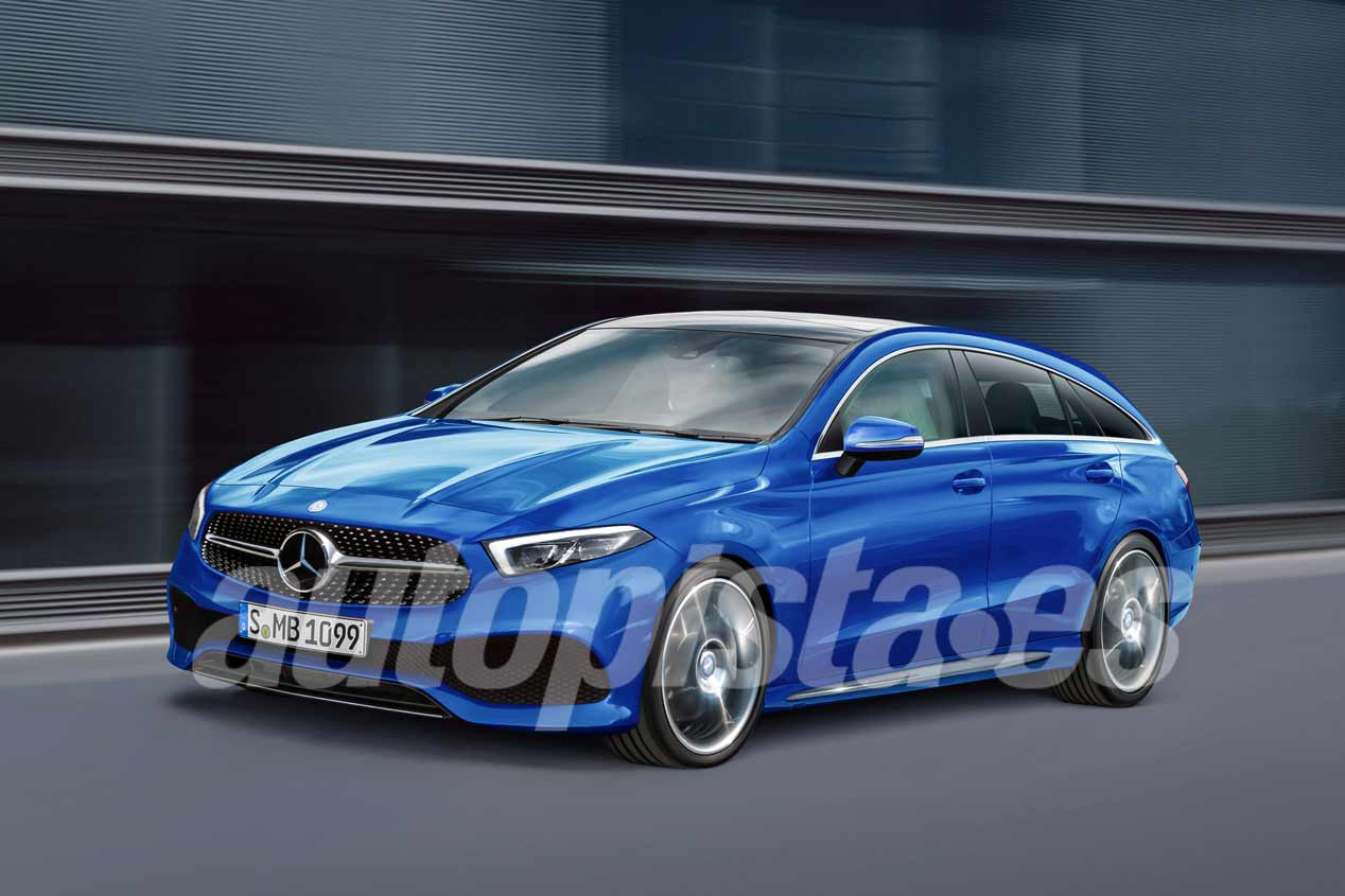 Mercedes Clase CLA Shooting Brake 2018