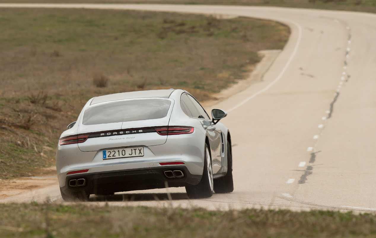 A prueba los Audi RS7 Sportback y Porsche Panamera Turbo