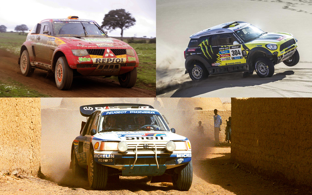 Coches dominadores en el Rally Dakar