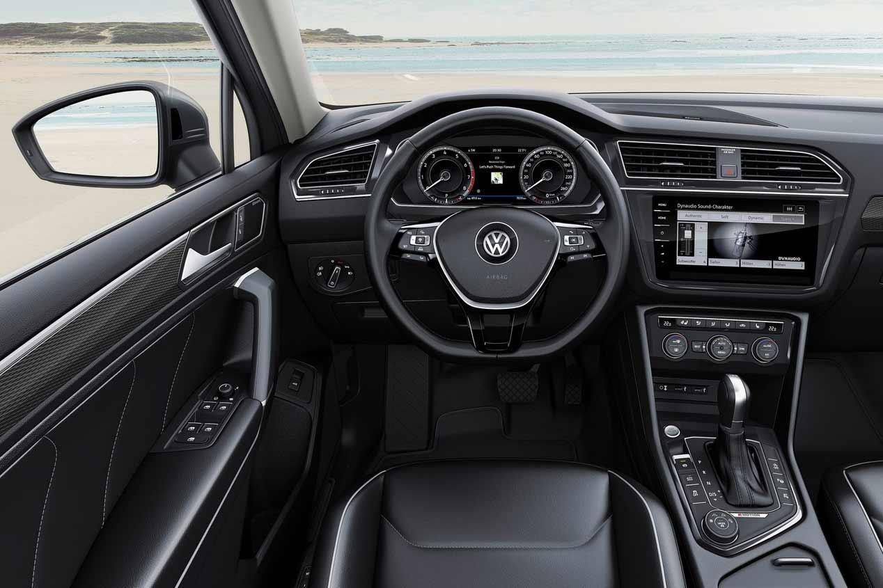 VW Tiguan Coupé: nuevo SUV con estilo en 2018