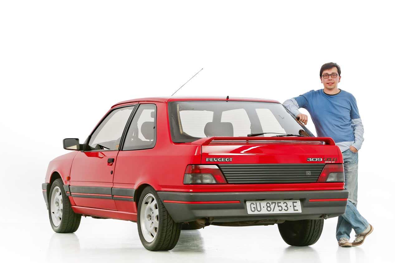 coches para el recuerdo peugeot 309 gti 1986 1993 coches cl sicos. Black Bedroom Furniture Sets. Home Design Ideas