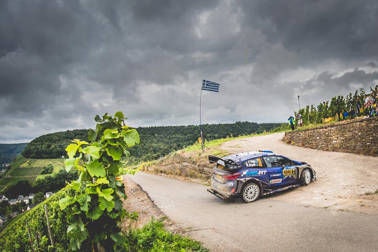 Rallye de Alemania 2017: Tänak repite