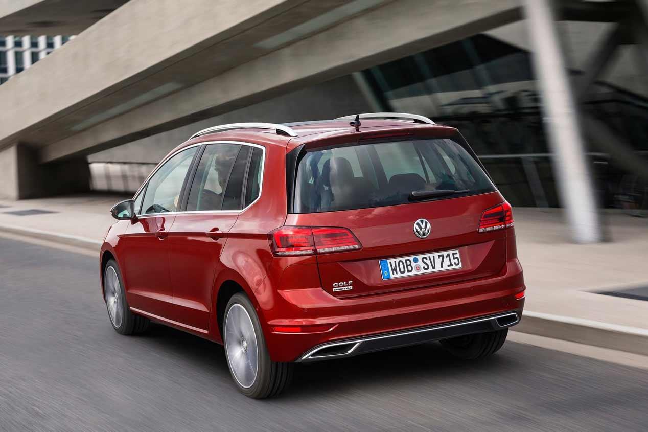 VW Golf Sportsvan 2018: sus mejores fotos