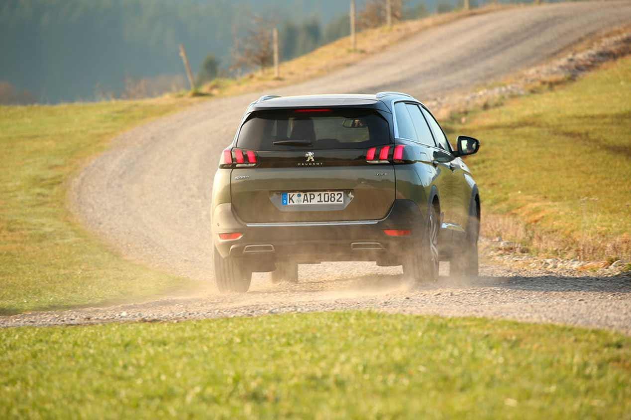 A prueba el Peugeot 3008, 5008 y 2008