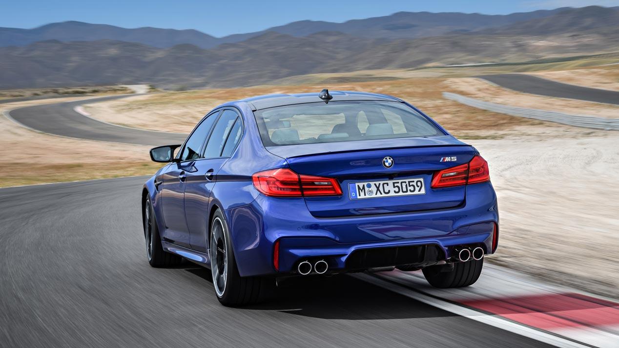 Imágenes oficiales del BMW M5 2018: así es la nueva generación M5